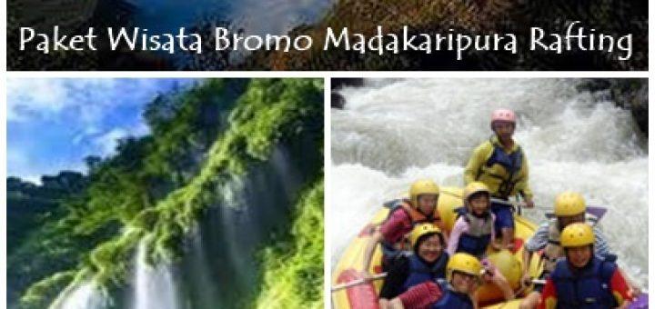 Paket Wisata Bromo Madakaripura Rafting 2 Hari 1 Malam