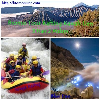 Paket Wisata Bromo Rafting Kawah Ijen 3 Hari 2 Malam