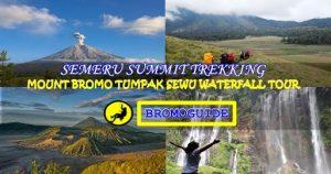 Semeru Trekking Mount Bromo Tumpak Sewu Waterfall Tour 5 Days