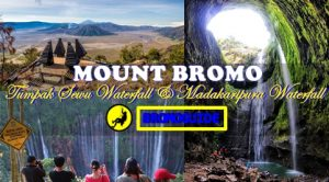 Mount Bromo Tumpak Sewu Waterfall and Madakaripura Waterfall Tour 3 Days