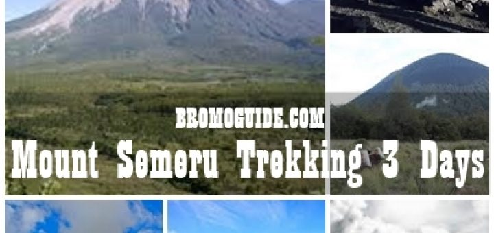 Mount Semeru Summit Trekking Tour Package 3 Days