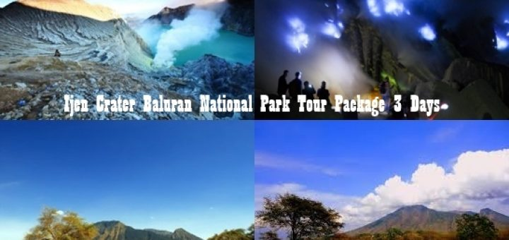 Ijen Crater Tour Baluran National Park 3 Days